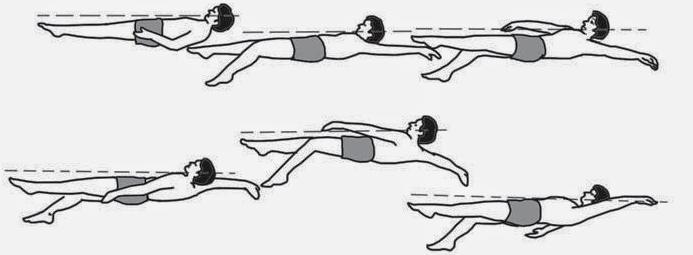 Gaya berenang punggung