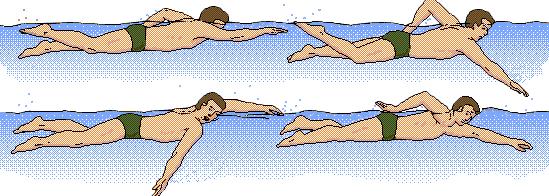 Gaya berenang samping