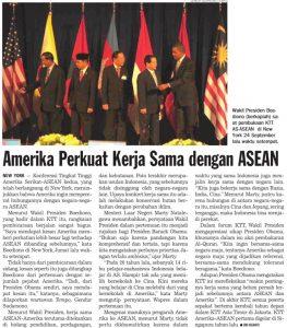 Amerika Perkuat Kerjasama dengan ASEAN