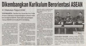 Dikembangkan Kurikulum berorientasi ASEAN