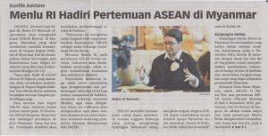 Menlu RI hadiri pertemuan ASEAN di Myanmar
