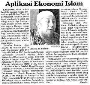 Aplikasi ekonomi islam