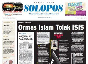 Ormas islam tolak isis