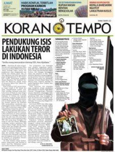 Pendukung isis teror indonesia